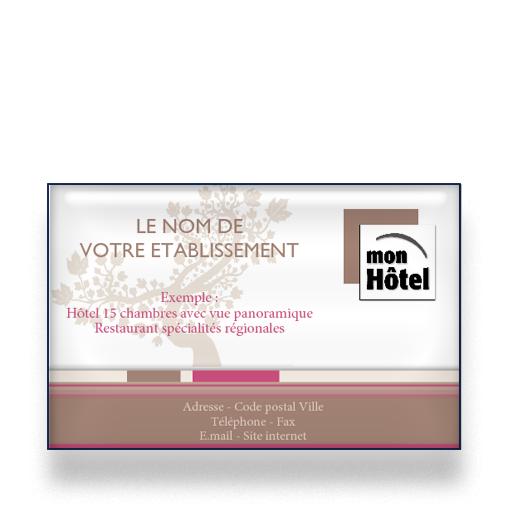 Personnaliser Et Commander Carte De Visite Pour Htel