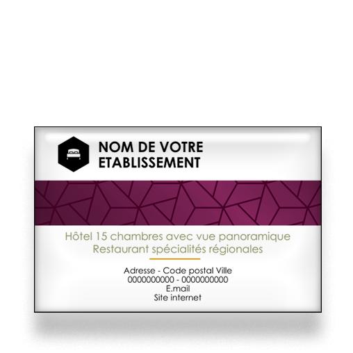 Personnaliser Et Commander Carte De Visite Pour Hotel