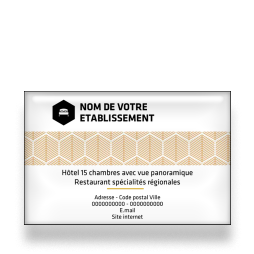 Carte De Visite Pour Hotel