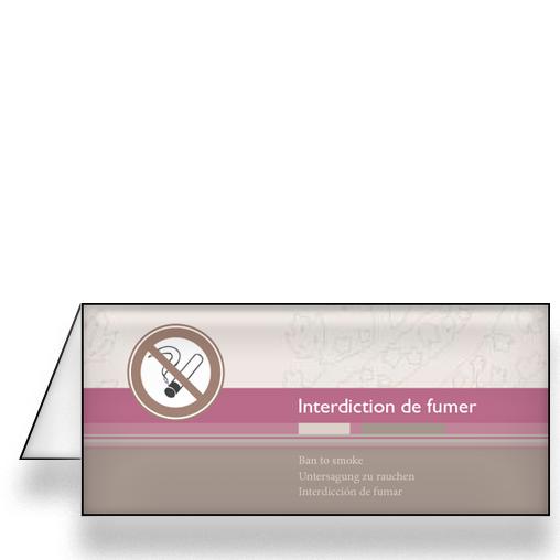 Imprimeur de chevalet non fumeur pour l 39 htellerie - Chevalet de chambre ...